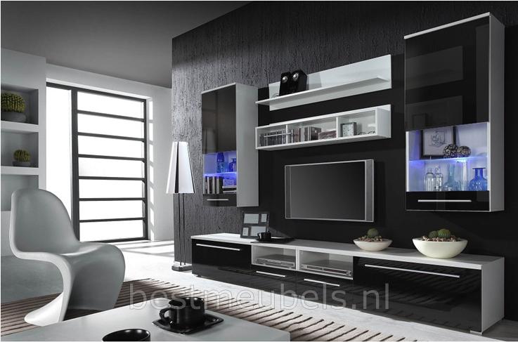 tv meubel hoogglans wit