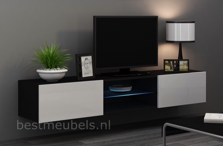 hoogglans wit tv-meubel