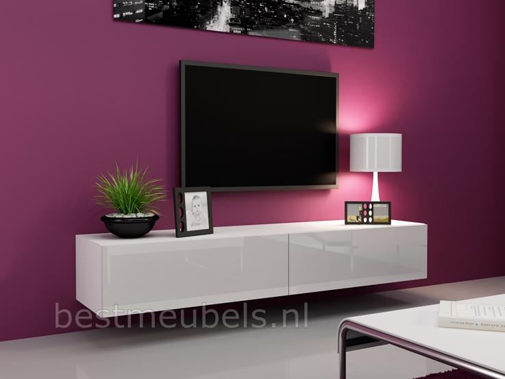 zwevend tv-meubel