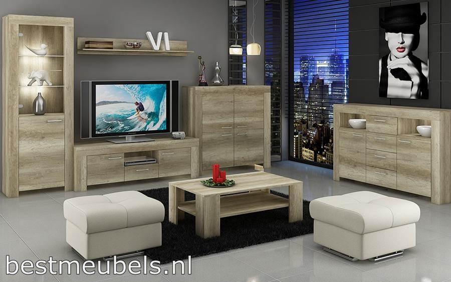 Woonkamerset Grijs : Complete woonkamer grijs : Woonkamer meubel in ...